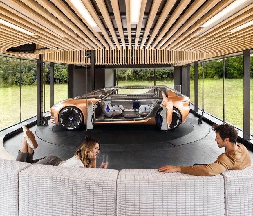 la voiture autonome votre prochain lieu de vie blog mercier auto. Black Bedroom Furniture Sets. Home Design Ideas