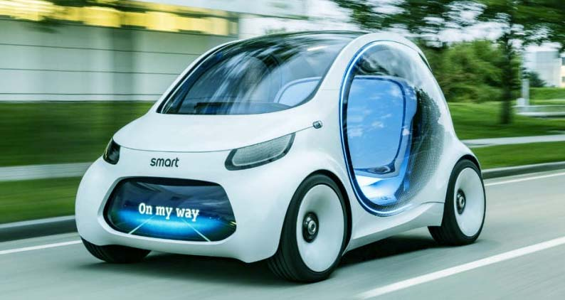 Smart voiture sans volant
